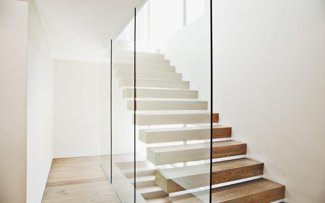 Les escaliers intérieurs